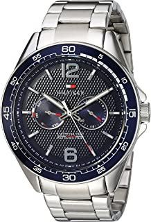 Men's Sophisticated Sport Quartz Watch with Stainless-Steel Strap, Tone, 22 (Model: 1791366)