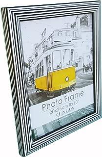 ITALIA 3 Pack Photo Frames,4 Different Sizes (Black/White, 5x7)