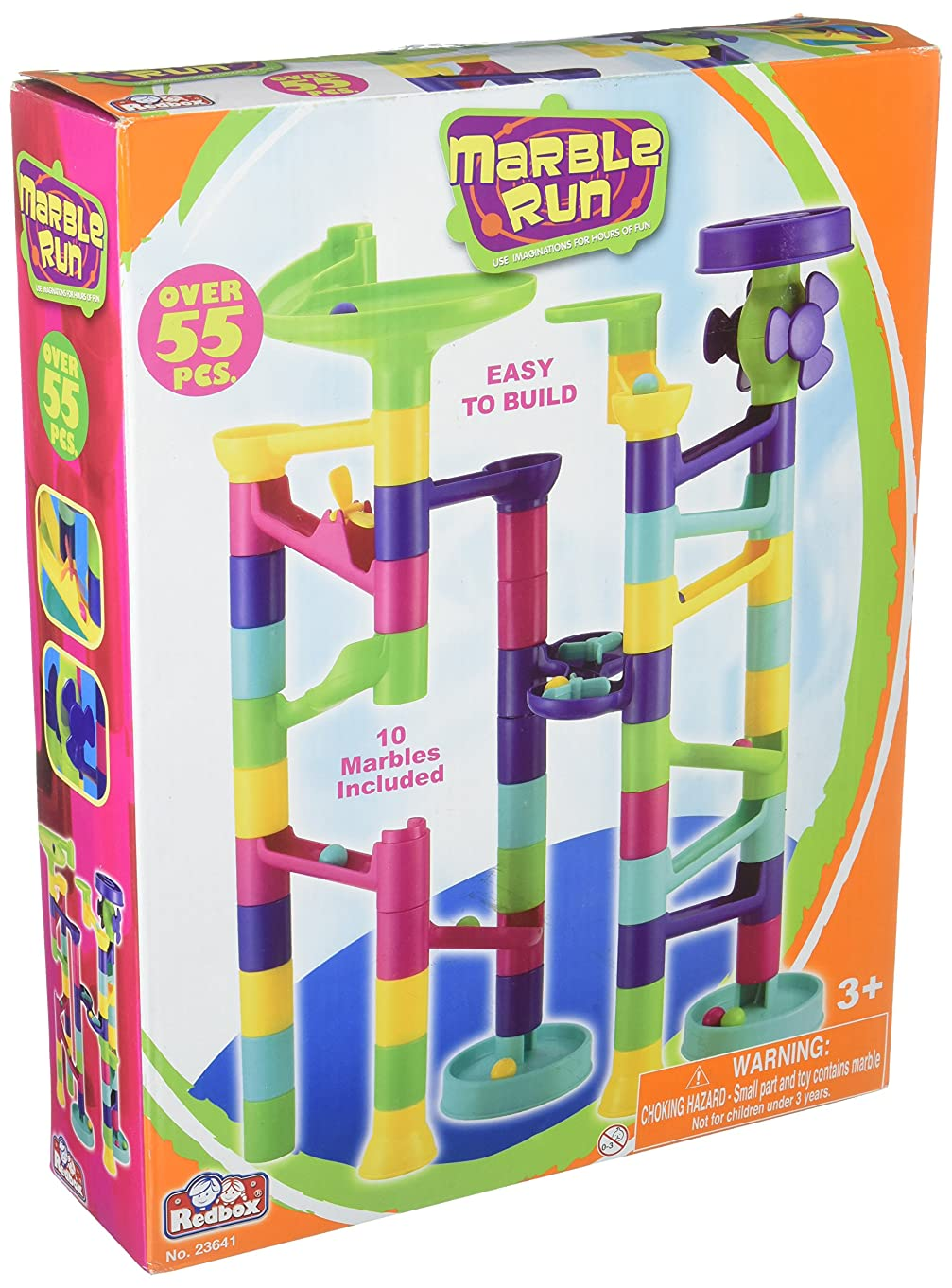 Castle Toy Marble Run Play Set
