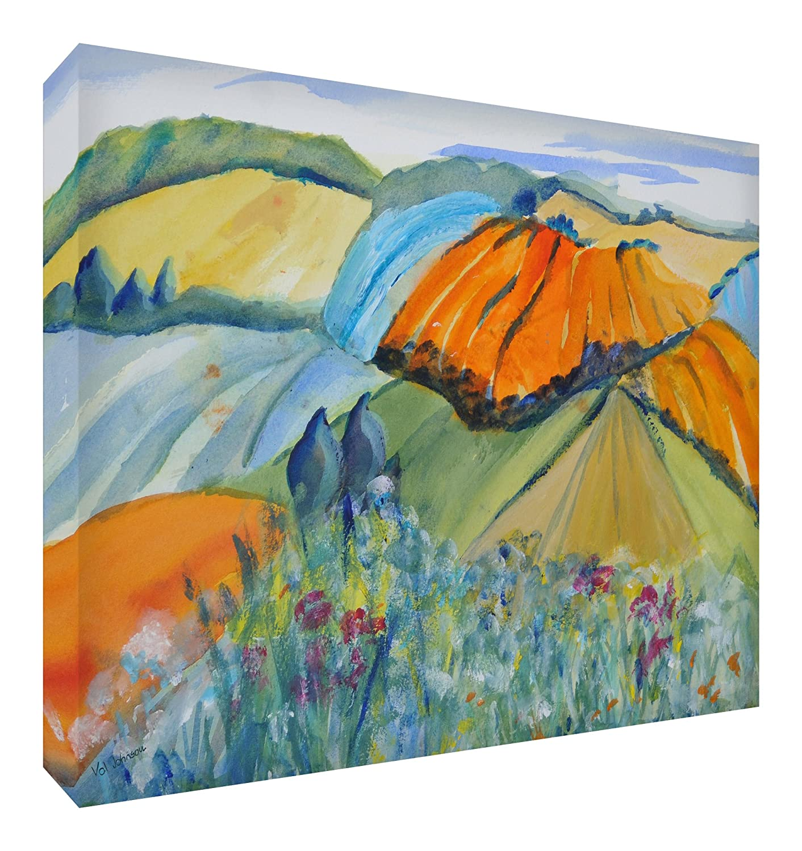 Feel Good Art Gallery Wrapped Nursery Box Canvas Jake, Large, 40 x 60 x 4 cm