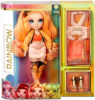 Rainbow Surprise Rainbow High Poppy Rowan - Orange Clothes Fashion Doll with 2 Complete Mix & Match Outfits and Accessorie...