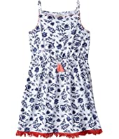Lucky Brand Kids - Floral Knit Dress (Big Kids)