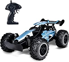 Rainbrace RC Racing Car Remote Control Car High Speed RC Car Fast RC Truck Rechargeable Radio Controlled Car RC Race Car Toys for Boys Girls Kids Age 5 16 Year Old Gift Present Blue