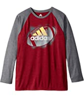 adidas Kids - Logo Sport Ball Tee (Big Kids)