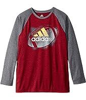 adidas Kids - Logo Sport Ball Tee (Big Kids)
