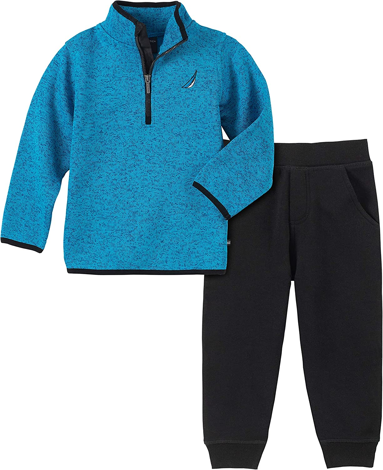 Nautica baby-boys 2 Pieces Sweater Pullover Pants Set