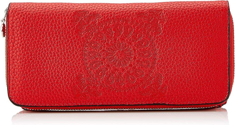 Desigual wallet soft bandana maria 1, portafogli da donna, porta carte di credito, in pelle sintetica 19WAYP07 / 3083