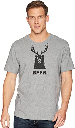 Bear + Deer = Beer Smooth Tee