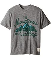 The Original Retro Brand Kids - The Mountains Are Calling Short Sleeve Tee (Big Kids)