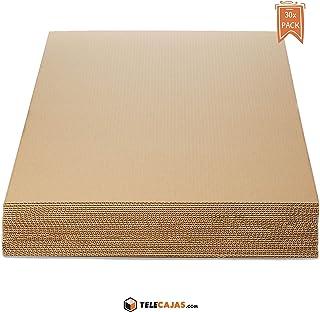 TeleCajas® | Planchas de Cartón Din A1 Ondulado | Medidas