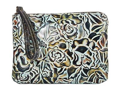 Patricia Nash Cassini (Turquoise/Multi) Wristlet Handbags
