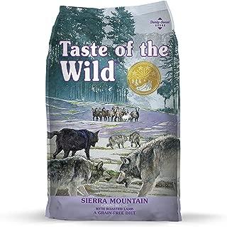 Taste of the Wild Grain Free High Protein Real Meat Recipe Sierra Mountain Premium Dry Dog Food