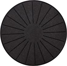 Lazy K Induction Cooktop Mat - Silicone Fiberglass Magnetic Cooktop Scratch Protector - for Induction Stove - Non slip Pad...