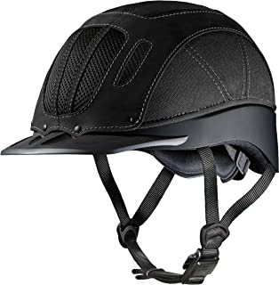 Troxel Sierra Black Western Equestrian Helmet SEI/ASTM Certification