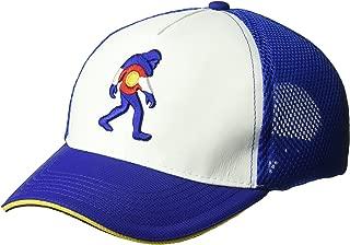 Headsweats Squatchorado 5-Panel Trucker Hat, White, One Size