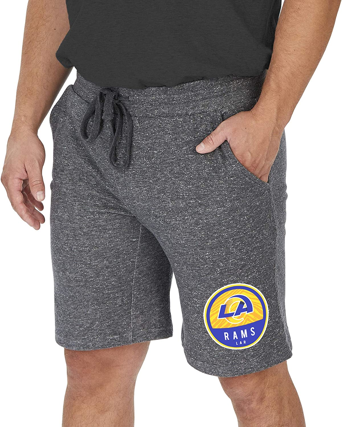 excellence Dallas Mall Zubaz Officially Licensed Men's NFL with String Short Sweat Draw