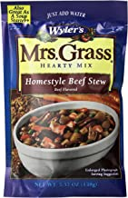 Mrs. Grass Beef Stew Hearty Homestyle Soup Mix (5.57 oz Cans, Pack of 8)