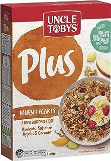 Uncle Tobys Plus Muesli Flakes Breakfast Cereal 820g