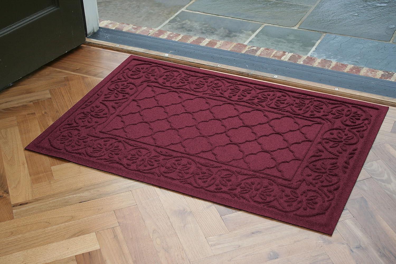 Aqua Shield pinklie Doormat, 2  x 3 , Bordeaux