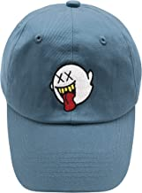 HSYZZY Distressed Boo Dad Hat Embroidered Baseball Cap Cotton Hat Ponytail for Men and Women