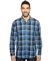 True Grit - Genuine Linen Long Sleeve One-Pocket Shirt Big Plaids