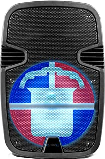 $119 » Sponsored Ad - Technical Pro 2000 Watts Rechargeable 12 Inch Dominican Republic Bluetooth LED Speaker with USB/SD Card Inp...