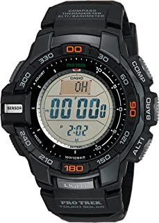Casio Men's Pro Trek PRG-270-1 Tough Solar Triple Sensor...