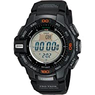 Men's Pro Trek PRG-270-1 Tough Solar Triple Sensor Multifunction Digital Sport Watch