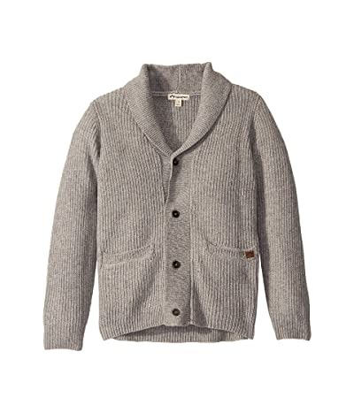 Appaman Kids Shelby Cardigan (Toddler/Little Kids/Big Kids) (Cloud Heather) Boy