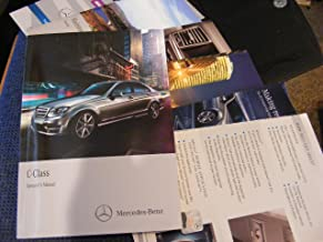 2014 Mercedes-Benz C-Class Owners Manual with Case