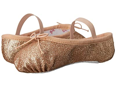 Bloch Kids Glitter Dust Ballet Slipper (Toddler/Little Kid) (Gold) Girl