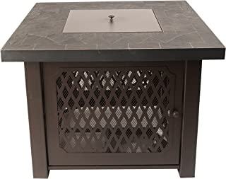 Pleasant Hearth OFG828T Walden Gas Fire Pit Table Propane