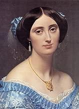 Princesse Albert de Broglie, nee Josephine-Eleonore-Marie-Pauline de Galard de Brassac de Bearn Detail by Jean-Auguste-Dominique Ingres - 21