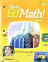 Go Math! Texas Grade 5: 1 (Houghton Mifflin Harcourt Go Math!)