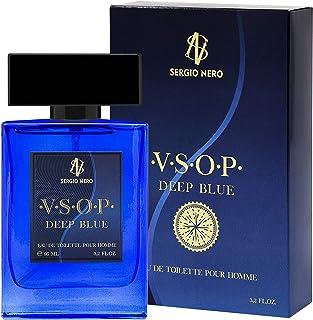 VSOP Agua de tocador (EDT) para Hombres 95 ml - NUEVA Fragancia para Él La mejor idea para hacer un regalo (DEEP BLUE)
