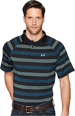 Athletic Tech Polo w/ Raglan Sleeve