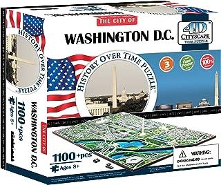 4D Washington DC Skyline Time Puzzle