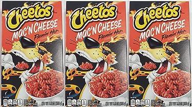 Cheetos Mac N Cheese 5.6 oz (Flamin Hot, 3 Pack)