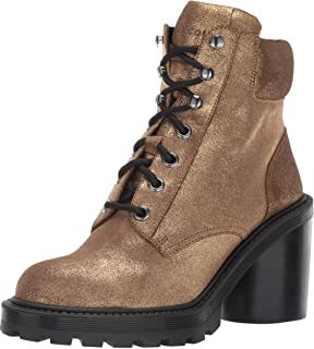 Marc Jacobs Women's Crosby Hiking Boot Ankle, gold, 36 M EU (6 US)
