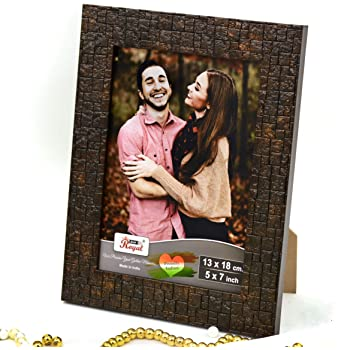 Ajanta Royal Classic 5 X 7 Photo Frame Insert (Brown Metalic) : A-54,Brown Coper