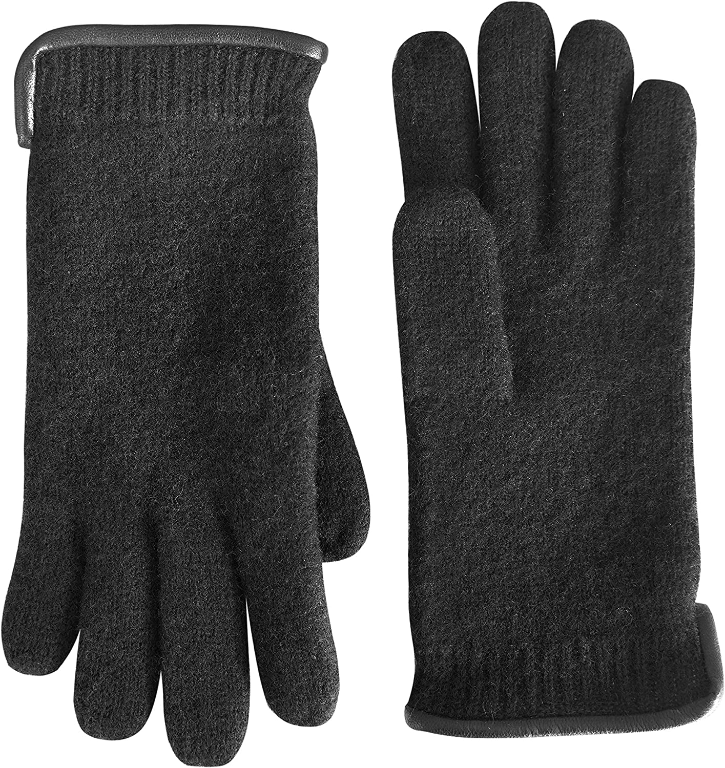 tittimitti 100% Our shop OFFers the best service Virgin Wool Men's with Spasm price Genuine Women's Gloves Le