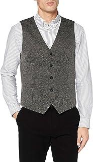 TOM TAILOR Men's Hahnentritt Weste Jacket