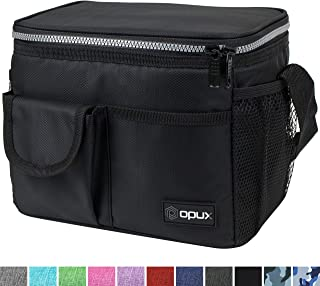 OPUX Lunch Bag Insulated Lunch Box for Women, Men, Kids | Medium Leakproof Lunch Tote Bag..