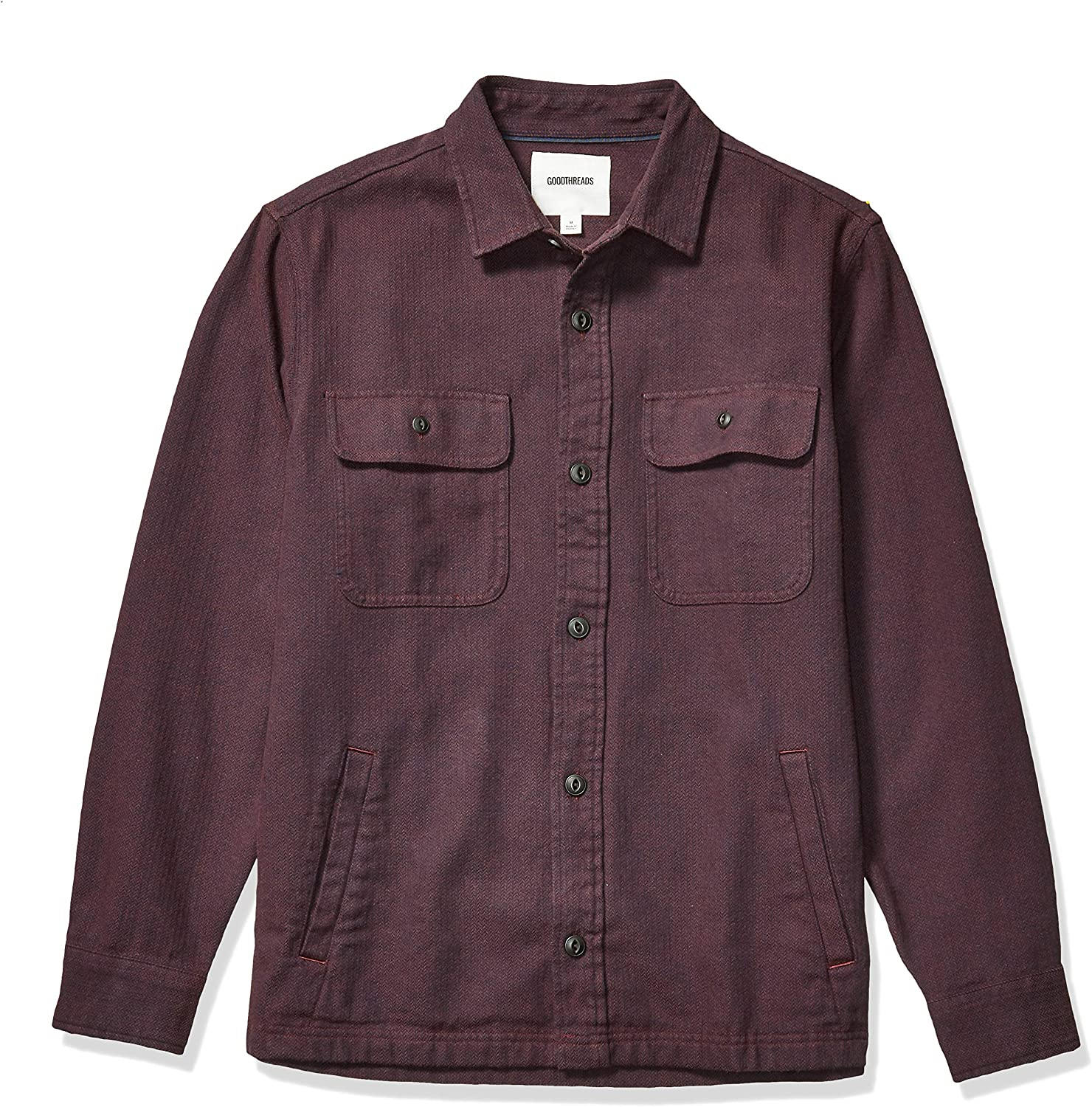 Goodthreads Men's Heavyweight Shirt Jacket Flannel High quality new Today's only