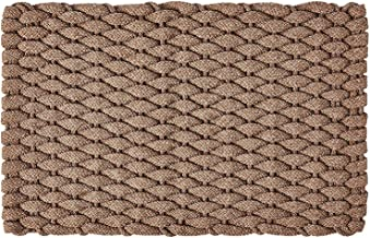 "Rockport Rope Doormats 2034224 Indoor & Outdoor Doormats, 20"" x 34"", Tan"