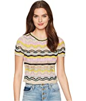 M Missoni - Wave Crochet Top