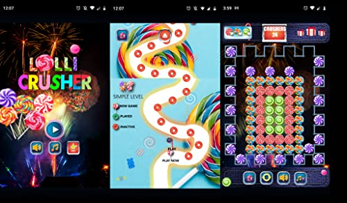 Match-3 Game - Lollipop Puzzles Game, LolliCrusher