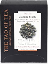 The Tao of Tea Jasmine Pearls Box Pyramid Sachets, 1.05 Ounce