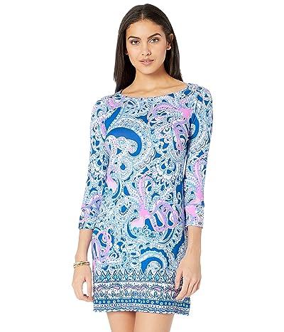 Lilly Pulitzer UPF 50+ Sophie Dress (Blue Grotto Legga Sea Engineered Sophie Dress) Women