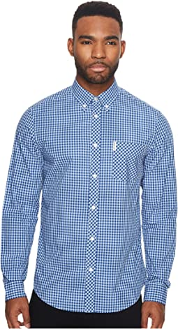 Ben Sherman - Long Sleeve Gingham Mod Shirt MA10113A